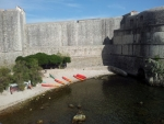 Dubrovnik - hradby u moře