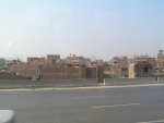 Obytná čtvrť Káhiry