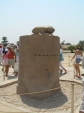 Karnak - socha scaraba