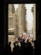 Karnak - ulička se sloupy