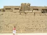 Karnak - zeď nápisů