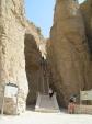 Schody k hrobce Thutmes III