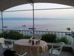 Omiš - výhled z terasy