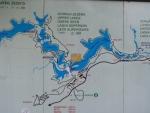 Plitvická jezera - mapa